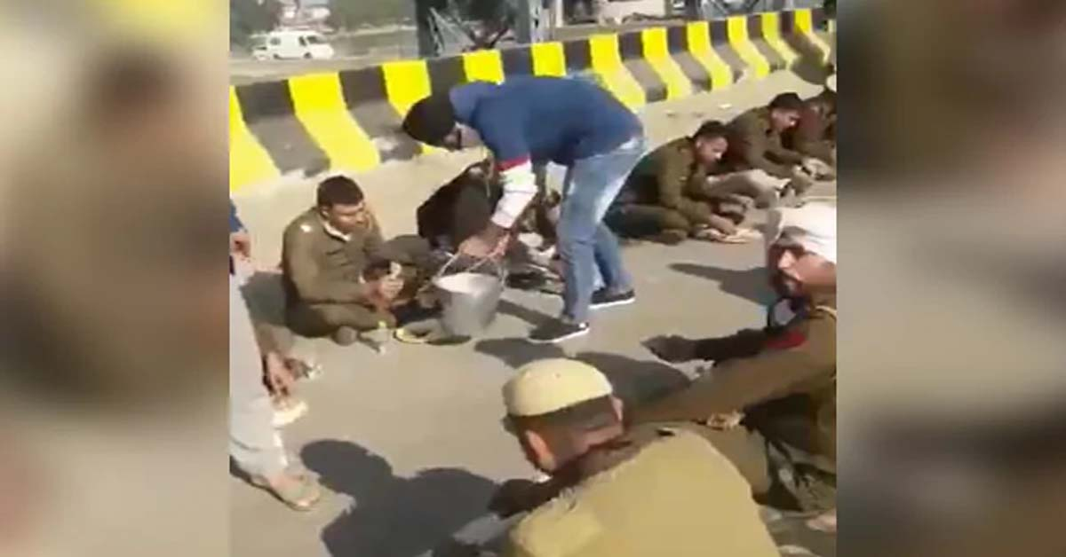 As Farmers, Police Clash In Delhi, Gurudwara In Haryana's Karnal Feeds Cops