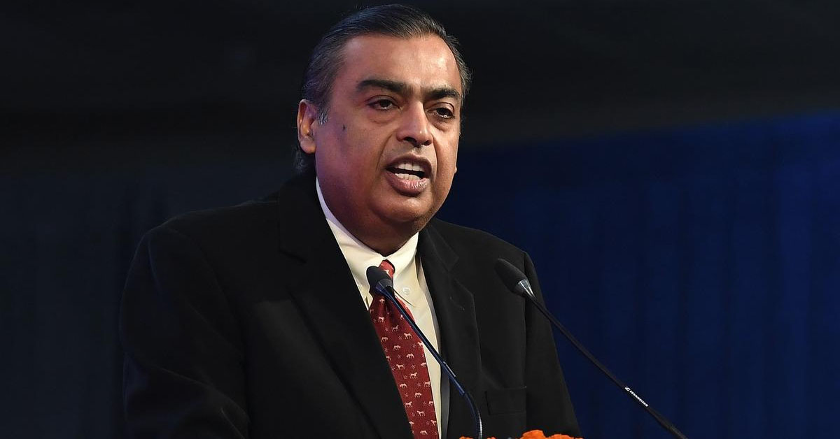 Reliance Industries To Sell 1.28% Stake In Retail Arm To US-Based KKR For Rs. 5,550 Crore