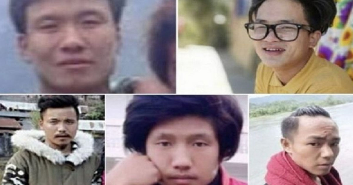 Five youths 'abducted' by PLA handed over to Army