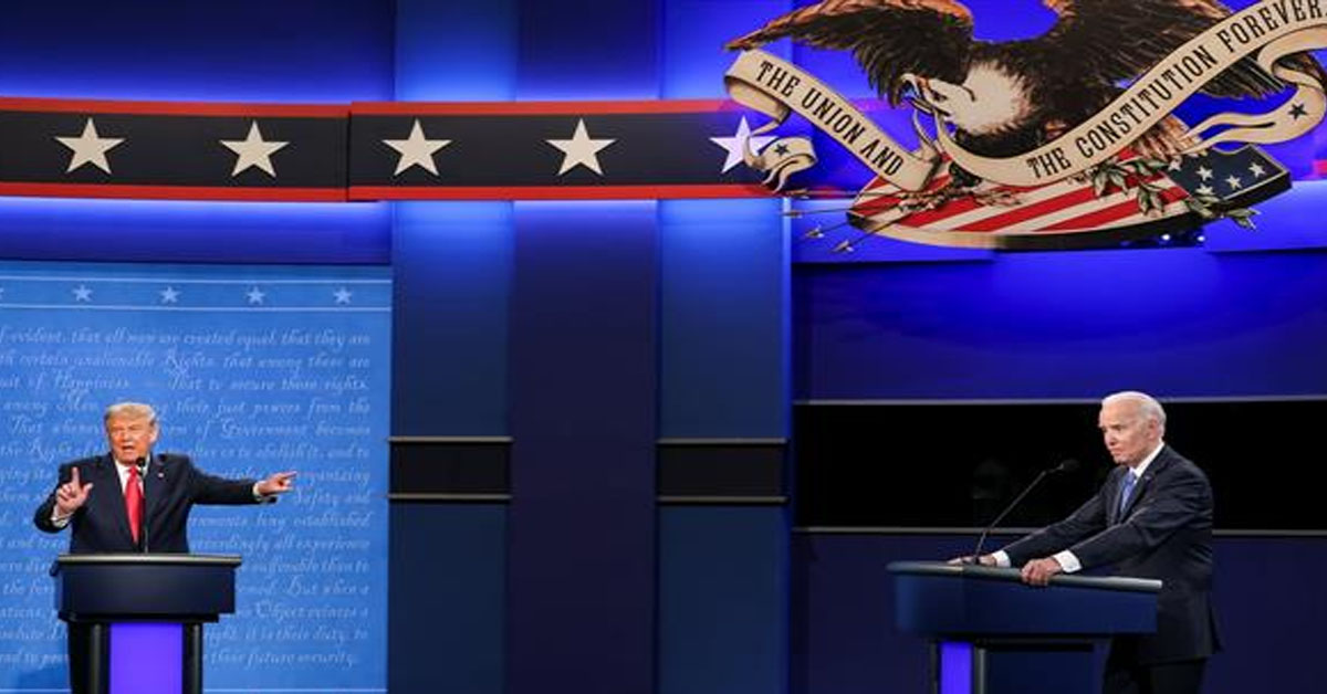 Mute buttons, Lincoln and a watch: Six takeaways from the Trump-Biden debate