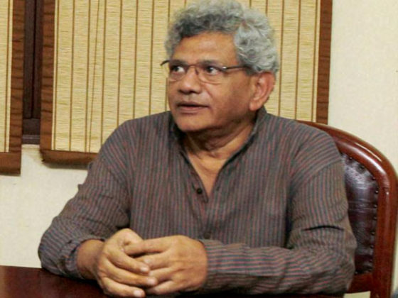 Yechury condemns demolition of Ambedkar Bhavan in Dadar