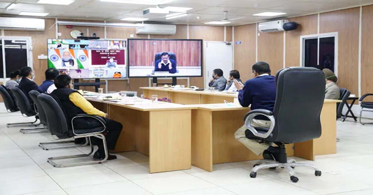 Arvind Kejriwal Asks PM To Intervene Over Farm Fires At Covid Meet