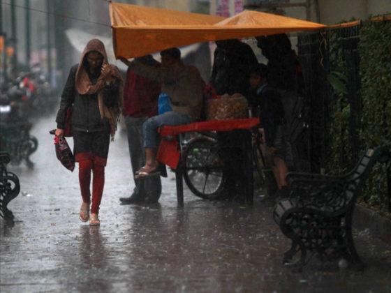 Heavy rains lash Delhi