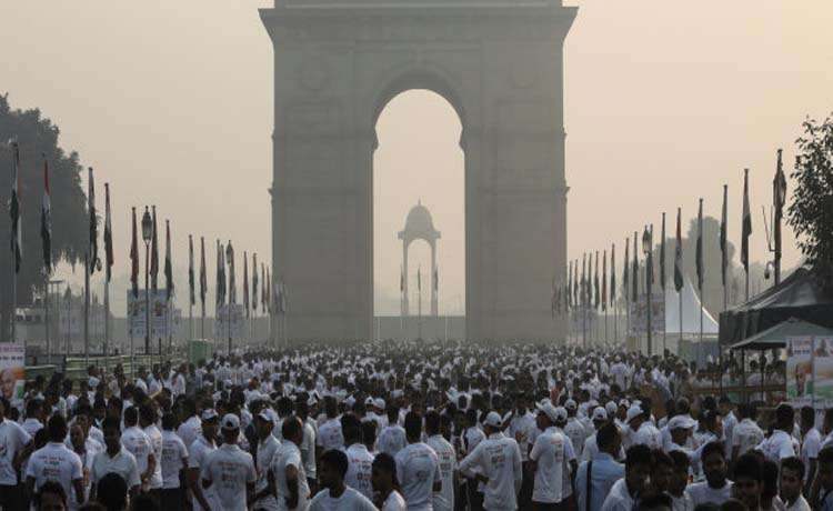 Modi Govt Skips Global Air Pollution Meet For Sardar Patel Statue Unveiling As India Chokes