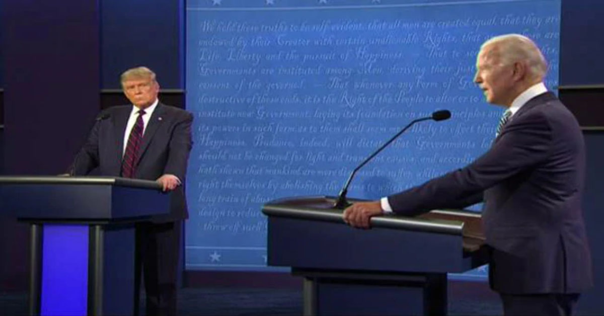 """Will You Shut Up Man!"": Joe Biden-Trump Face-Off At Presidential Debate"