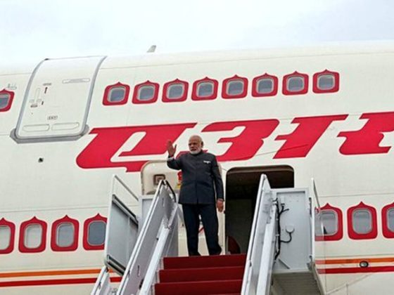 PM Modi arrives in Mozambique