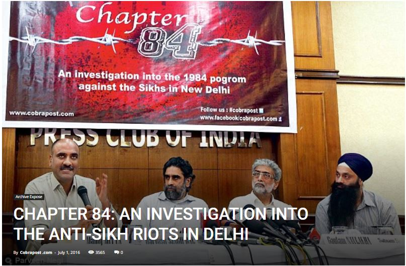 CHAPTER 84: AN INVESTIGATION INTO THE ANTI-SIKH RIOTS IN DELHI