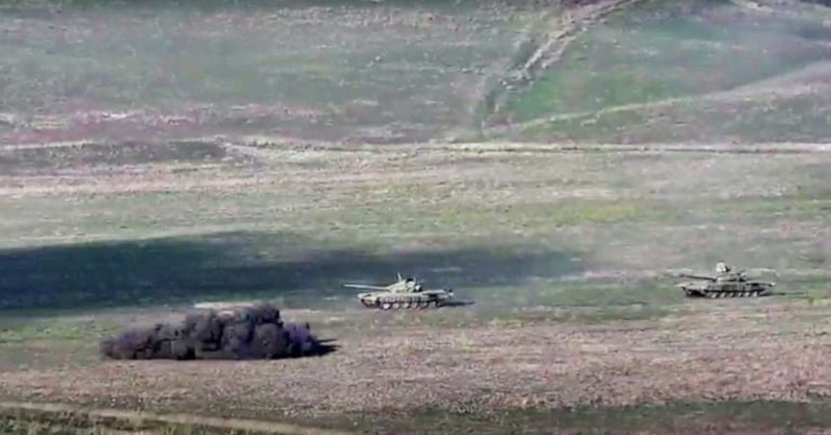 Fighting erupts between Armenia, Azerbaijan