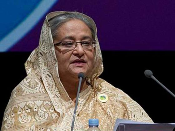 Determined to root out terrorism: Bangladesh PM Sheikh Hasina