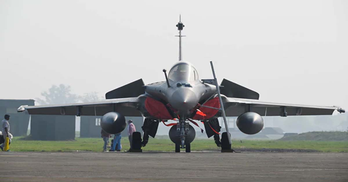 """New Bird In Arsenal"": 5 Rafales  Join Air Force"