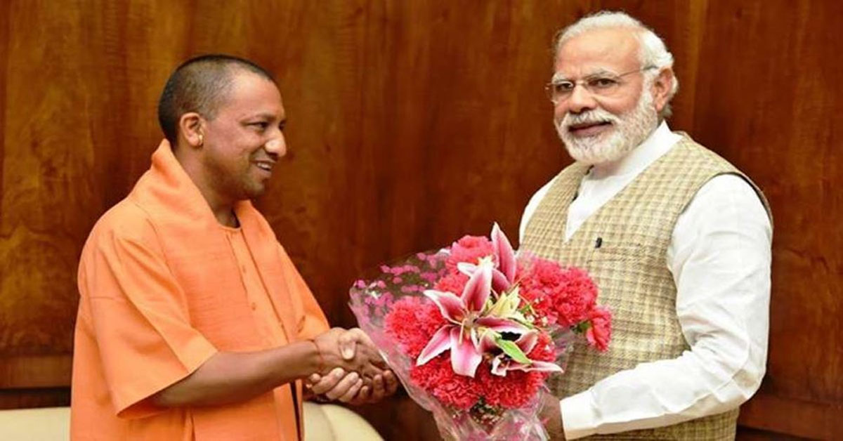 Yogi praised by PM for measures to tackle COVID in UP