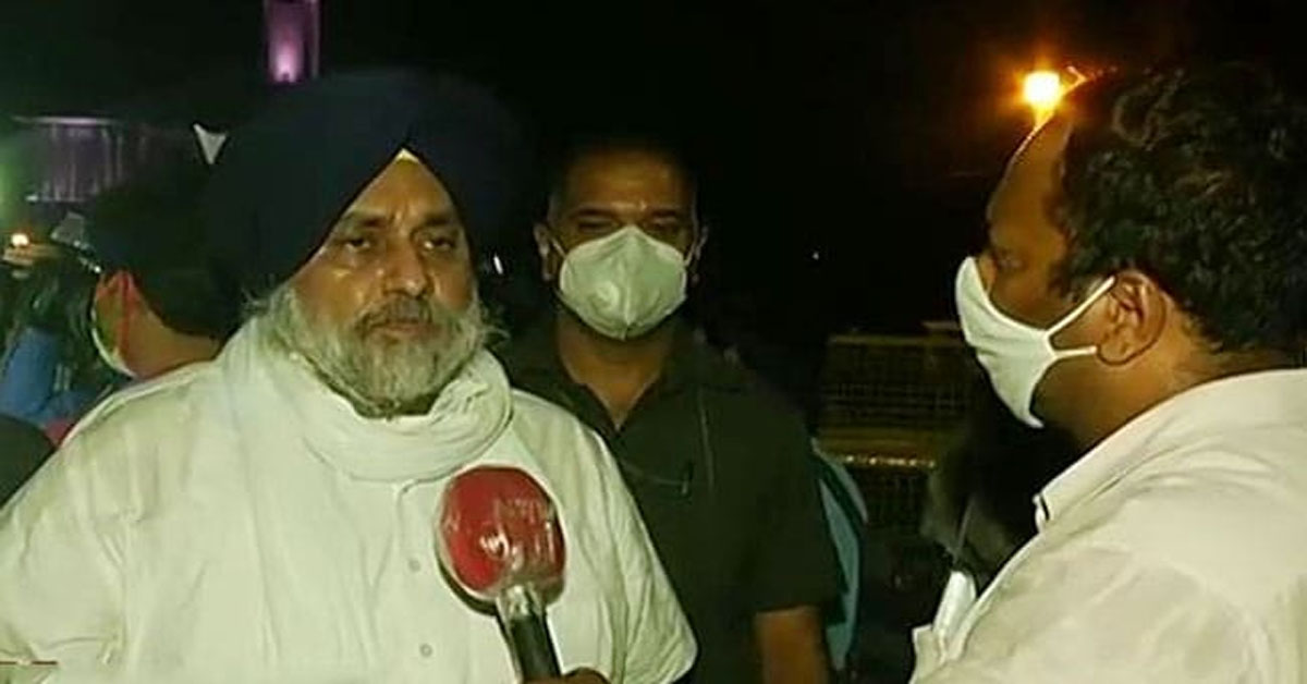 """""""Can't Go Back"""": Sukhbir Badal Says Akalis Will Review Ties With BJP"""