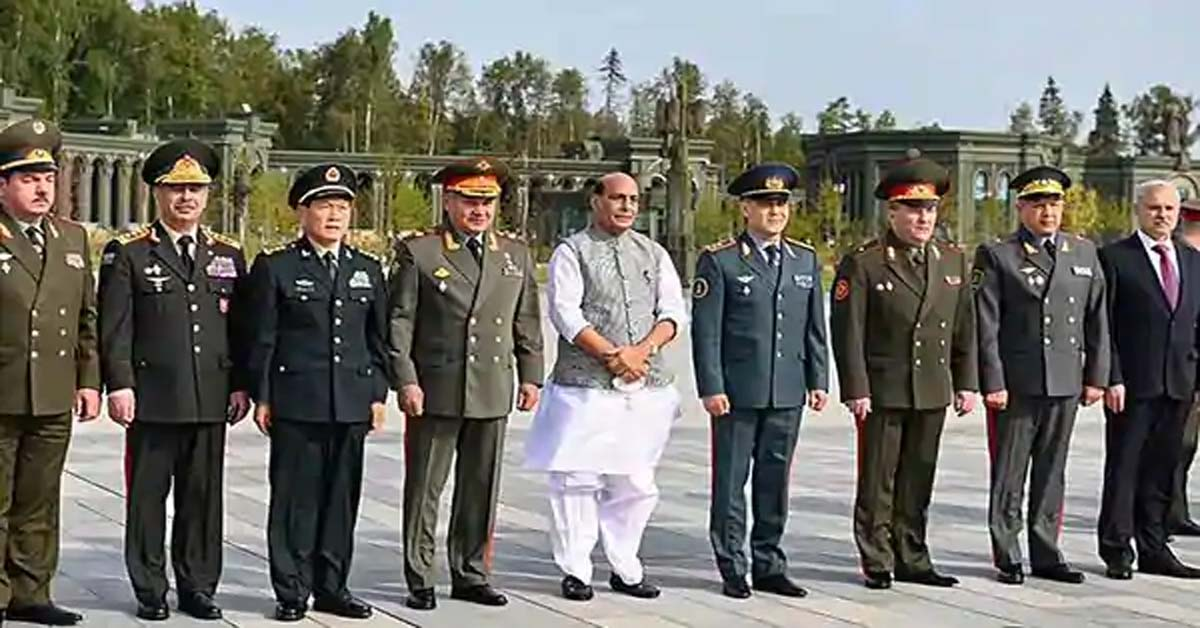 Rajnath discusses defence ties with counterparts from Uzbekistan, Kazakhstan and Tajikistan